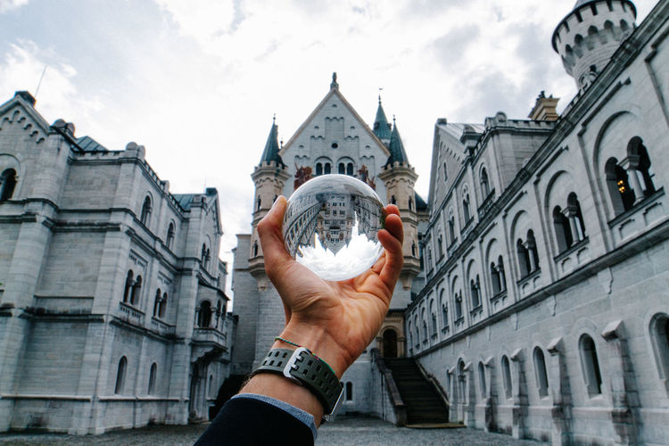 Disney Castle in a hand! 🔮🏰 Avwm Bavaria Bavarian Architecture Deutschland Germany HistoricPlace Neuschwanstein Neuschwanstein Castle Weroamgermany The Architect - 2017 EyeEm Awards
