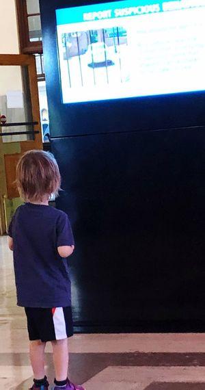 Boy meets TV