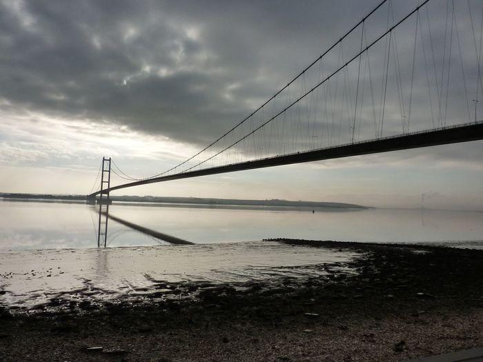 Humber Bridge Humberbridge Hull Bridges Water Riverside