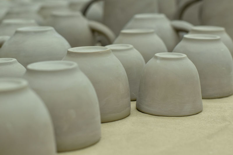 Pottery waiting