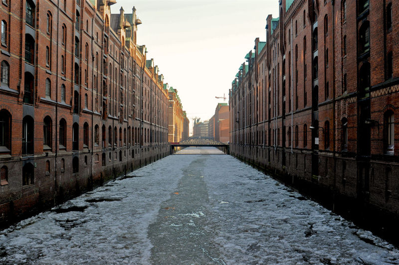 Hamburg Speicherstadt Hamburg Hafencity Winter No People Water Ice The Architect - 2016 EyeEm Awards