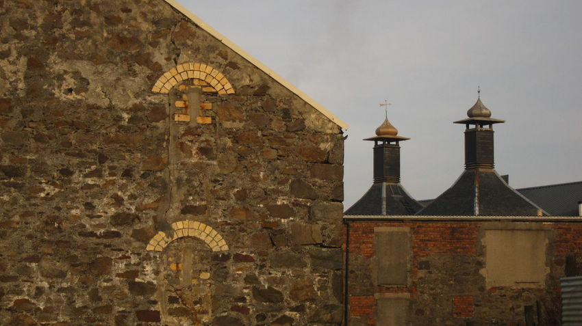 Scotch Whisky Scotland Whisky Architecture Building Exterior Built Structure Castle City Clock Clock Face Day Distillery History Island Islay No People Outdoors Scotch Whiskey