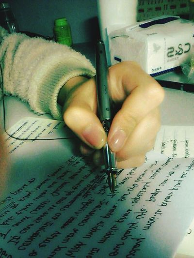 Writing i Taking Photos