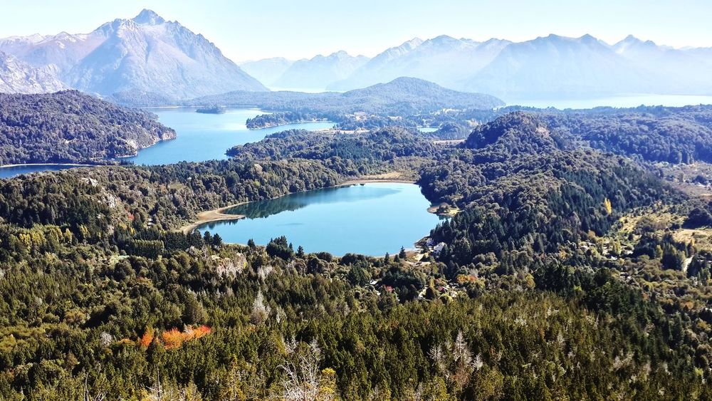 Bariloche, Argentina. Mountain Mountain Range Beauty In Nature Scenics Landscape Sky Outdoors Nature Growth Tree Cloud - Sky Mountain Peak Day No People Water Natural Parkland Patagonia Andina Bariloche, Argentina Patagonian Andes Argentina Photography Argentina Beauty In Nature Nature Bariloche