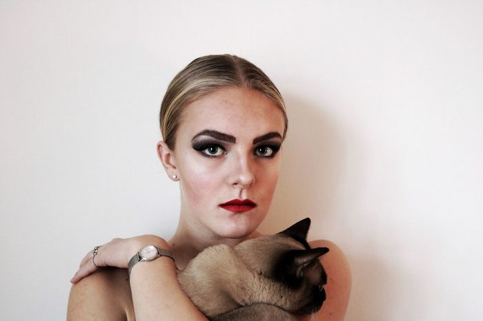 Second Selfie another one One Person Make-up Catowner Young Women