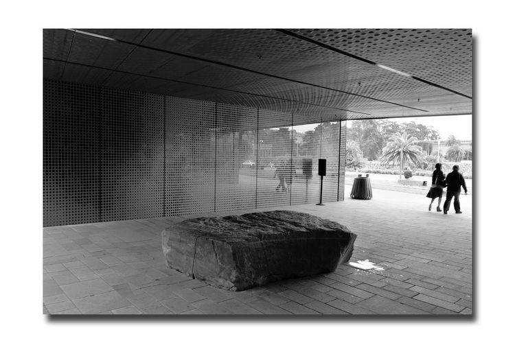 All About Angles 8 DeYoung Museum San Francisco CA🇺🇸 Golden Gate Park Bnw_friday_eyeemchallenge Museum Time Fine Arts Museum Entry Courtyard Entrance Architecture Architectural Detail Façade Perforated & Dimpled Copper Plates Stone Tiles Monochrome_Photography Monochrome Black & White Black & White Photography Black And White Black And White Photography Drawn Stones Seating 1st Museum Built 1895 Severely Damaged 1989 Loma Prieta Earthquake New Museum Opened 2005 Architecture_collection