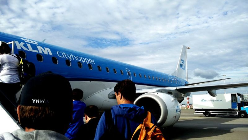 EyeEm Selects KLM Schiphol Airport Travel Travel Photography Travelling Sky