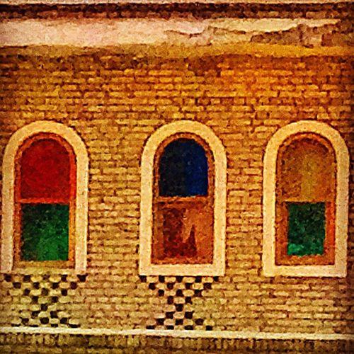 Architectural Heritage Historical Building Cultural Heritage Middle East Ancient Building Ancient Architecture Bricks Walls Textures And Surfaces Kurdistan Iraq Erbil Citadel Windows