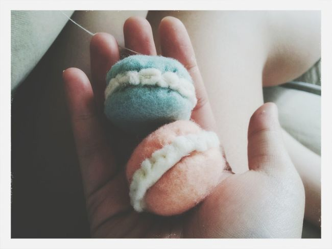 Felt Macarons DIY Cute