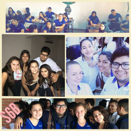 Collage! ?? Boring Class Funny Faces Beautiful Happy