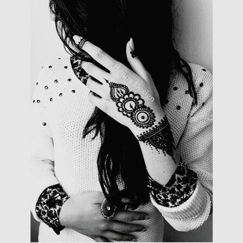 Tatouage Henné ♡♡ Marocco Maroc Fille Fashion Tatoue Hanna First Eyeem Photo