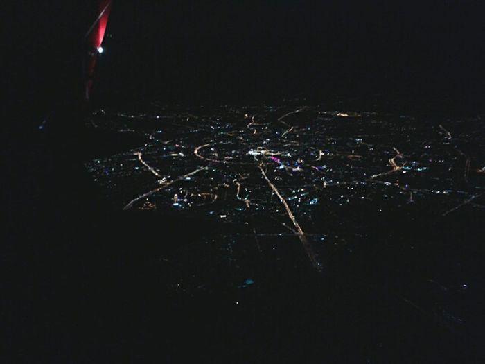 Вид на Москву ночью First Eyeem Photo
