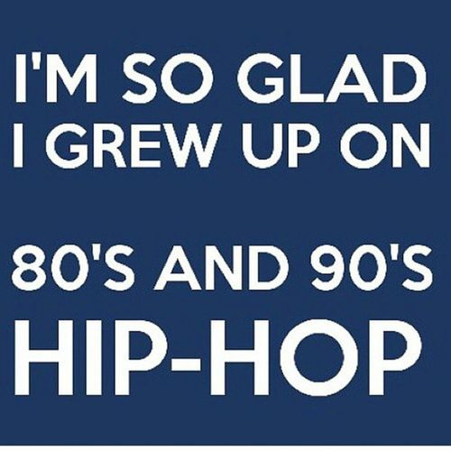 I'm a 2001Baby but I grew up on this music