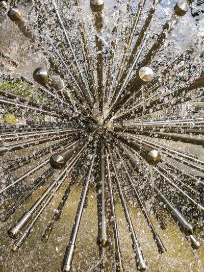 Abstract Art Backgrounds Day Decor Dew Drops Drop Freshness Garden Gardening Home Ideas Image Interior Design Metal Nature Outdoors Park Pipe Splash Spray Spraying Steel Textured  Water