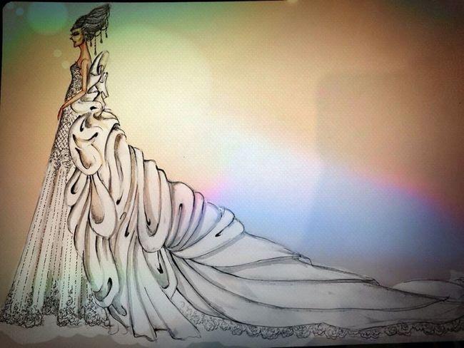 Fashion Designer Illustration Mydesign Wow!! wedding