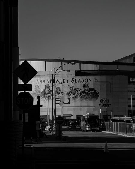 Anniversary season Architecture City Outdoors St. Louis St. Louis, MO Stadium Day Sky Bnw Bnw_collection Bnw_captures