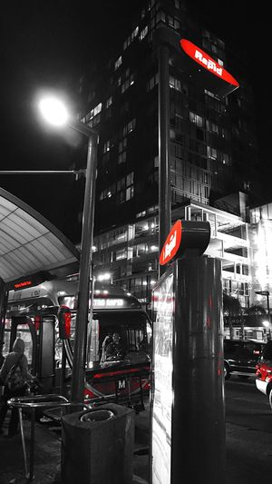 Bus Busstation Metrobus Night Nightphotography Night Lights Night Photography Colorsplash Urban Urban Lifestyle Life Lifeworld Learn & Shoot: After Dark Everything In Its Place Bus Stop Bus Station Bnw Blackandwhite My Favorite Photo