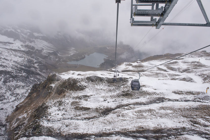 Cable Car Ice Mountain Travel Alps Alps Switzerland Beauty In Nature Day Forest Mountain Nature No People Outdoors Scenics Sky Swiss Alps Switzerland Travel Destinations