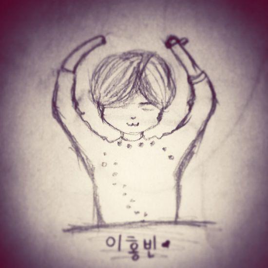 홍빈이~ ㅇㅅㅇ VIXX Hongbin Kpop Drawing Chibi