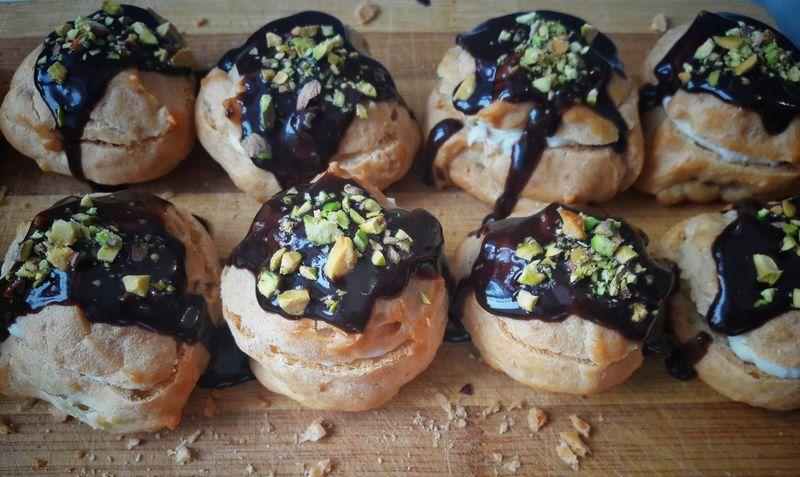 Profitroles Bakery Products Bake Bakery Bakering Delicious Tasty