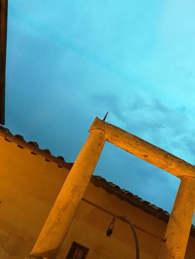 Architecture Built Structure Church Architecture Prospective Blue Hour Tranquility Smartphone Photography Lonleyness Prospettive