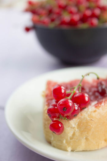 Close-up of dessert in bowl