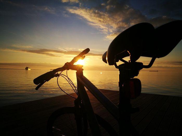 riding until