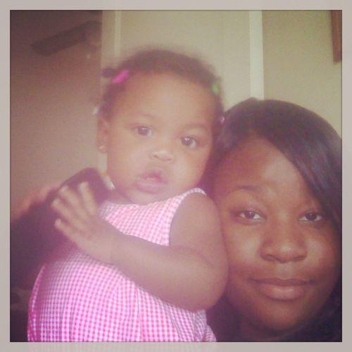 My baby girl Makynli