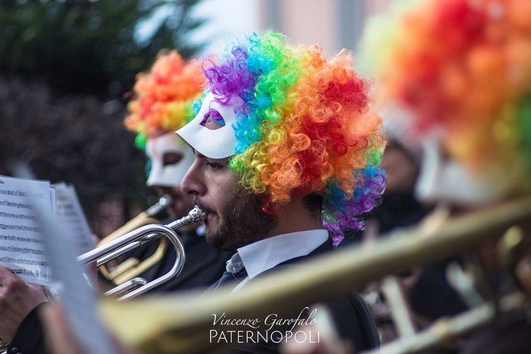 Carnival Party: Paternopoli Showcase: February Carnival Colors Music