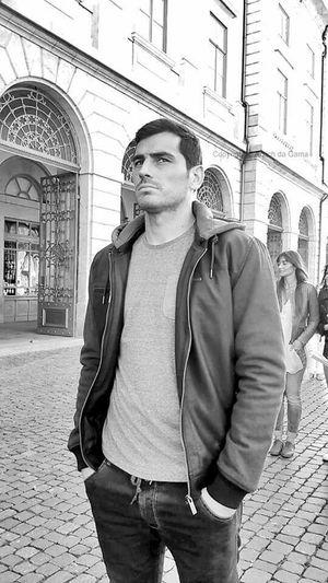 Casillas shooting commercial in Porto, Portugal. Awesome day!!! Iker Casillas Casillas FCPorto Porto Portugal