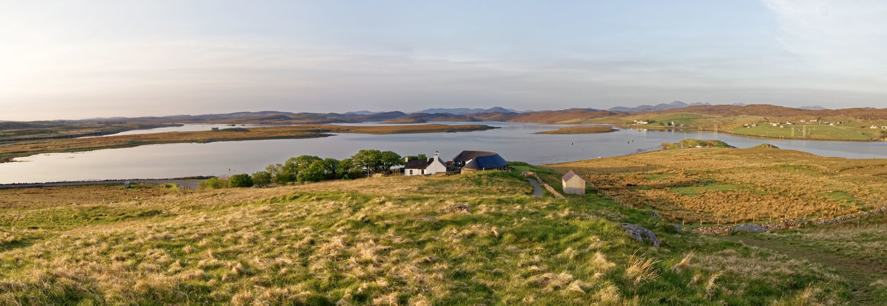 Yesnaby Orkney Islands Japan Orkney Islands Scotland View Animal Beauty In Nature Cloud - Sky Croft Day Environment Field Grass Landscape Mountain Nature Non-urban Scene Plant Scenics - Nature Sky Tourism Tranquil Scene Tranquility Travel Destinations Vivid International Water