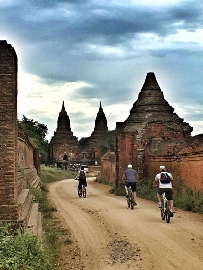 Celebrate Your Ride IPhoneography IPhone Bike Cycling Bagan Myanmar Snapseed