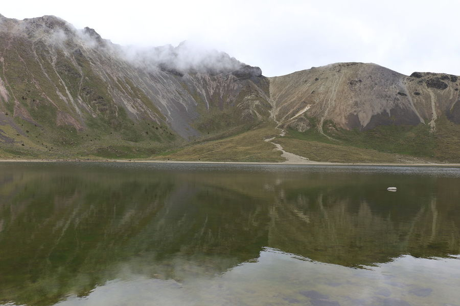 Beauty In Nature Estado De México Idyllic Lake Majestic Mountain Nevado De Toluca Outdoors Physical Geography Reflection Scenics Standing Water Tranquil Scene Tranquility Volcanic Landscape Volcano Water