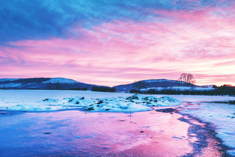 To see more of my work head to http://www.timothybarkerjr.com/ Beauty In Nature Cloud - Sky Cold Temperature Ice Landscape Mountain Scenics Season  Sky Snow Sunset Tranquil Scene Weather Winter