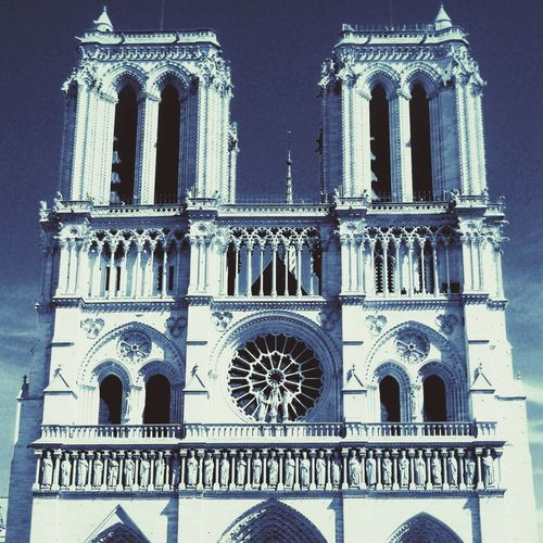 Notre Dame before disaster Place Of Worship Spirituality Religion History City Window Ornate Gothic Style Rose Window Arch Façade Bell Tower Church Cathedral Bell Place Of Interest Bell Tower - Tower Abbey