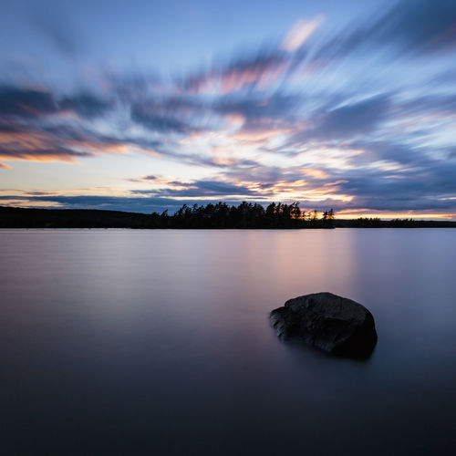 A sunset over Eagle Lake, Ontario, Canada Canadian Eagle Nature Ontario Blue Canada Lake Landscape Outdoors Outdoors Photograpghy  Scenics Sky Sunset Water