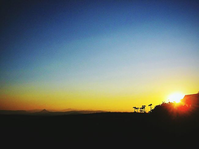 Sunset Silhouette Nature Scenics Beauty In Nature South Africa Midlands Kzn EyeEmNewHere