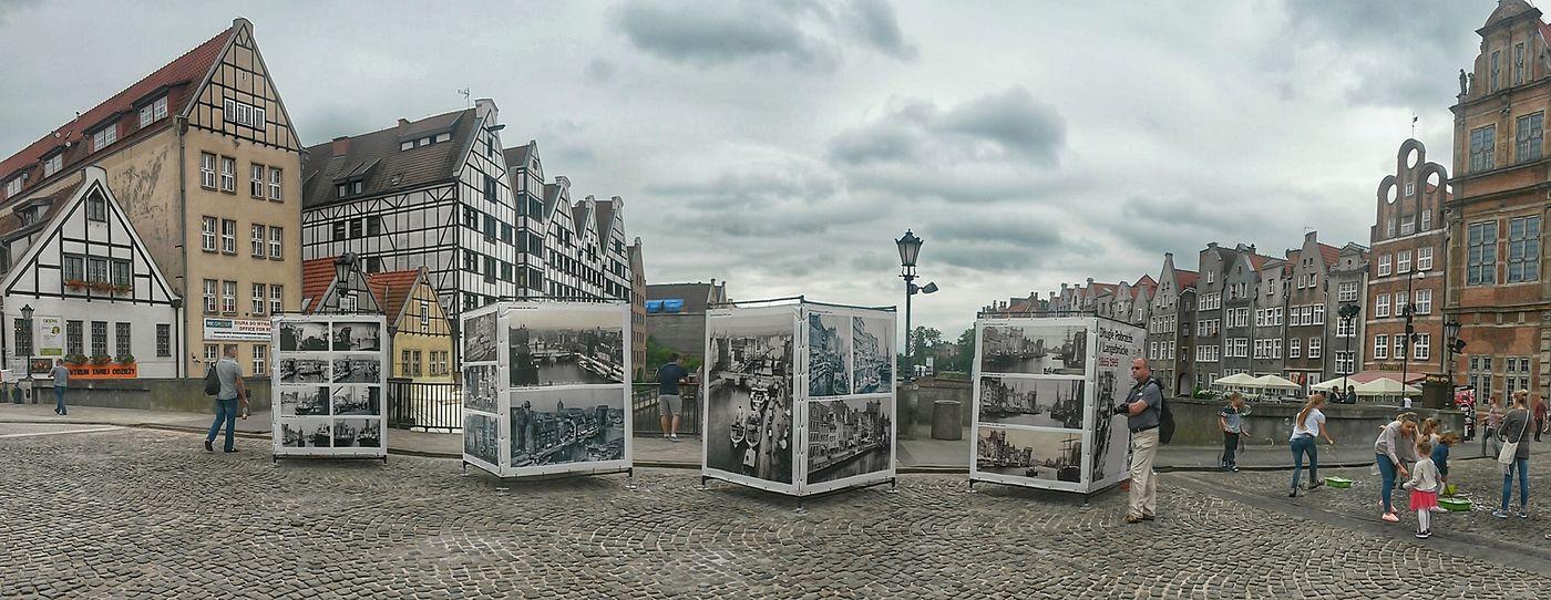 Gdansk (Danzig) Hdrphotography Panoramic Photography Poland 💗 Motława Brigde Cityscape City Life Outdoor Exebition Showcase July Showcase July 2016
