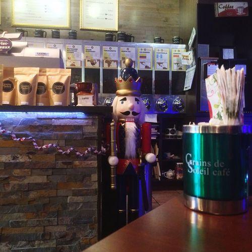 Casse-noisette / Nutcracker Xmas Christmastime Grainsdesoleilcafe Quebec Canada