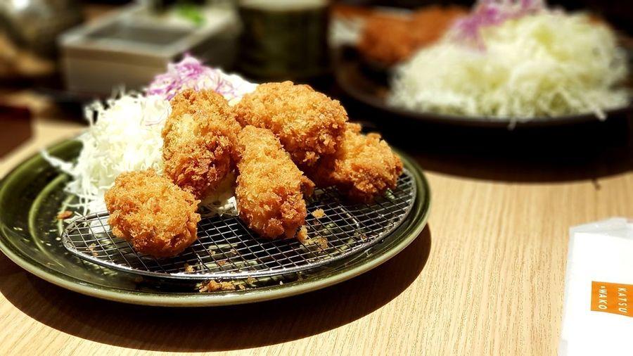 Tongkutsi Tongkatsu Japanese Food Food And Drink Food Table Still Life Freshness Indoors  Plate Asian Food Japanese Food