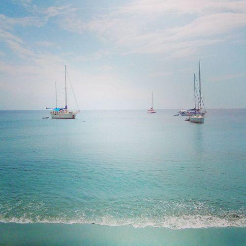Enjoying The Sun Boats