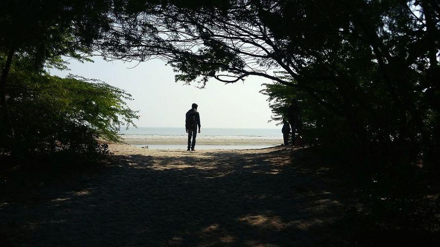 A L O N E First Eyeem Photo Sea Seaside Friend Travel Photography