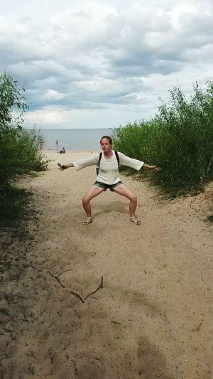 Poland Pologne Sopot Plage Beach