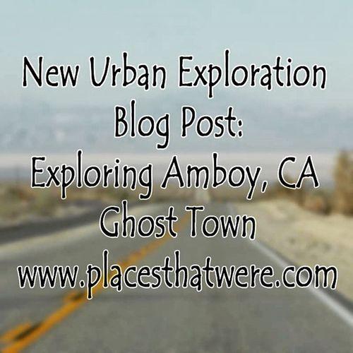 Urbanexploration Urbex Rurex Amboy California Ghosttown Abandoned Abandonedbuilding