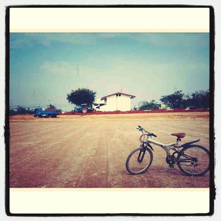 Bike on site...[ขาดไม่ได้ล่ะเวลา on site@CPM1]