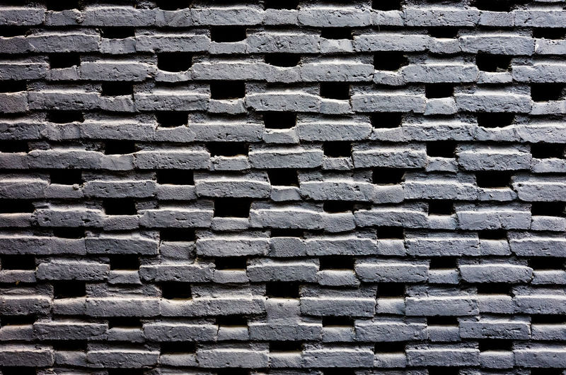 Brick in black color work wall pattern, craftmanship in construction building, selective focus. Architecture Construction Pattern Pieces Background Backgrounds Black Color Brick And Mortar Close-up Design Detail Full Frame Mortar And Pestle No People Pattern Stone Textured  Wall Feature Wall Textures Wallpaper