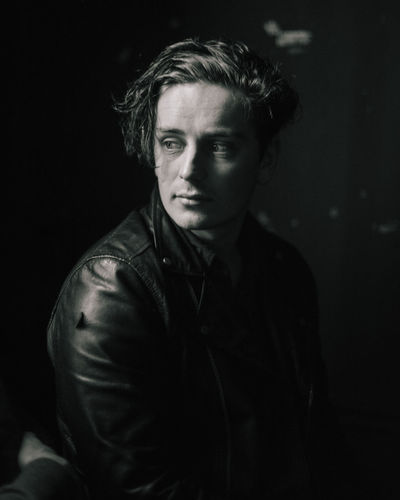 A picture of Tomas who plays bass for Amber Run, this shot was taken on the band's most recent tour in Dublin. Amber Run