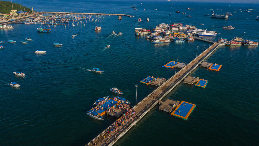 Water Nautical Vessel Transportation Sea High Angle View Freight Transportation Mode Of Transportation Shipping  Nature Ship Architecture Business Cargo Container Industry Harbor Day Waterfront Outdoors Pier Economy Pattaya