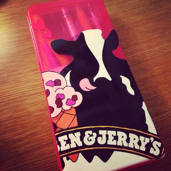 renewal Ben&Jerry's Pencase Pink