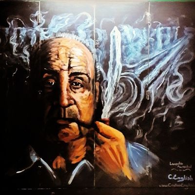 Art Arte Street Calle travel viajando viaje argentina baires buenosaires streetart pipa pipe igtpc pipesonpipes pipesmoking pipestagram